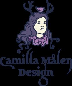 logo Camilla Målen Design